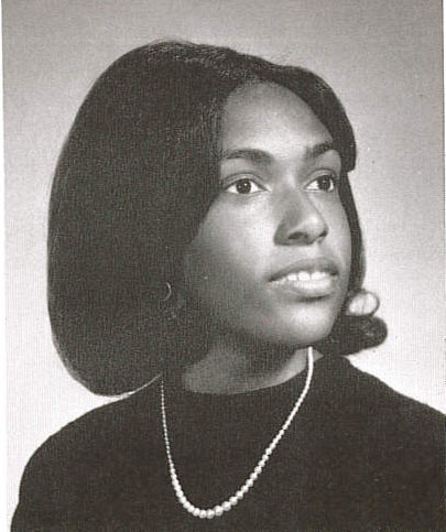 nancy carter yearbook photo