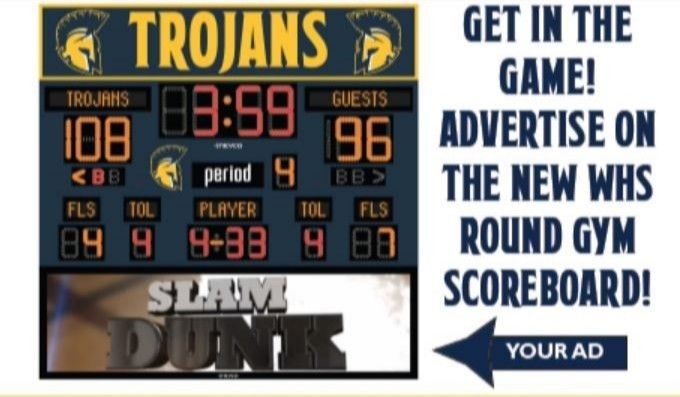 Image of scoreboard ad space