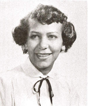 Louise Blackwell Jones, Class of 1954